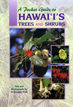 A Pocket Guide to Hawaii's Trees and Shrubs (bookcover)