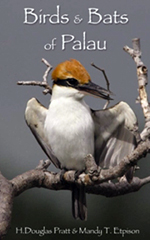Birds & Bats of Palau (bookcover)