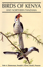 Birds of Kenya and Northern Tanzania (bookcover)